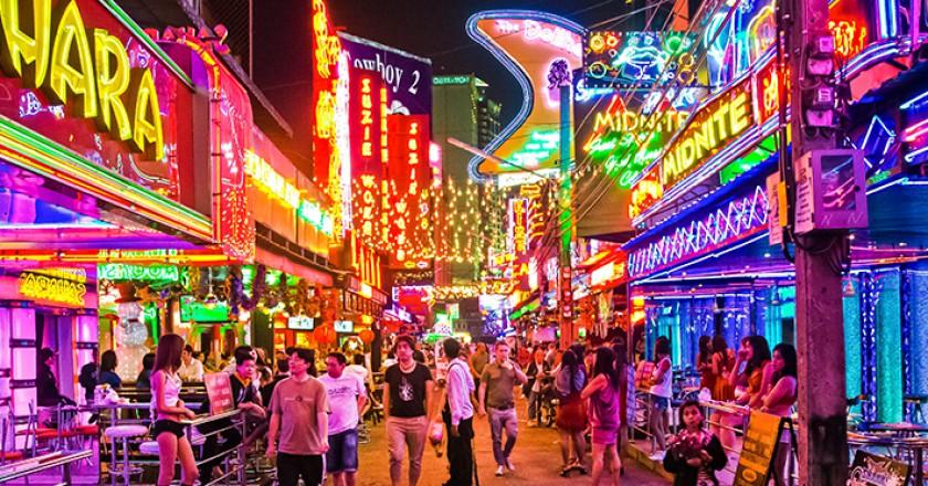 phố đèn đỏ Bangkok