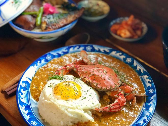 Cà ri cua hwangge