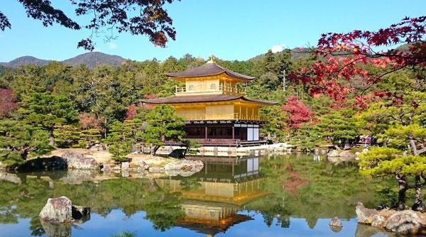 Chùa Kim Các Tự Kinkaku-ji