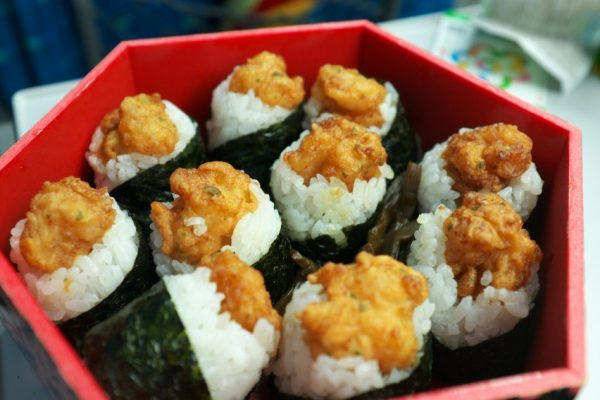 cơm nấm Tenmusu