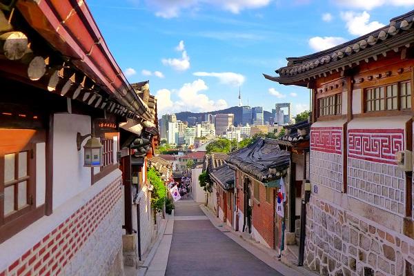 du lịch Làng Hanok Bukchon