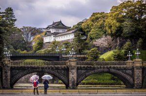 khu vườn đông hoàng cung Tokyo
