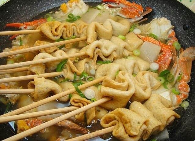 ăn Lẩu đậu hũ chiên Halmae khi du lịch Busan tự túc