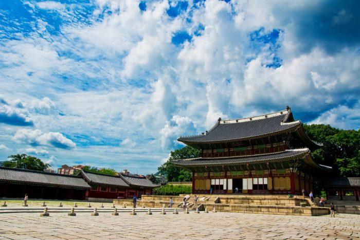 tham quan cung điện Changdeokgung