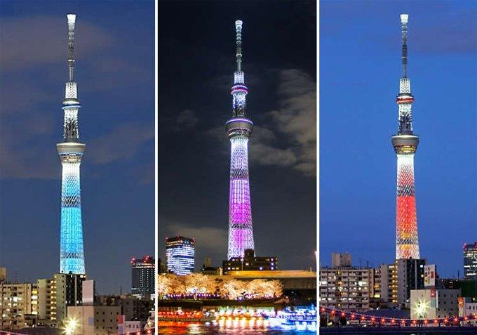tháp truyền hình Tokyo SkyTree