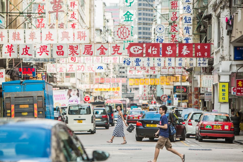 điểm check-in hong kong